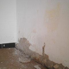Aufsteigende Feuchtigkeit im Mauerwerk