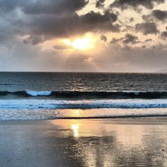 Doc Let Beach, am schönsten früh morgens