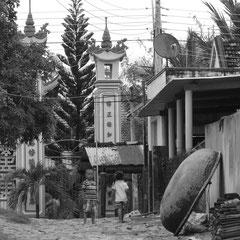Klein Tempelanlage in der Nähe vom Resort