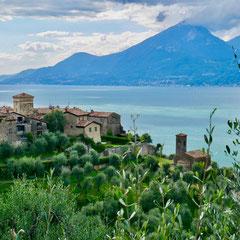 San Zeno di Montagna, Gardasee