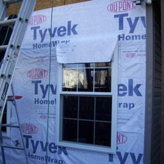 04-Tyvek installed