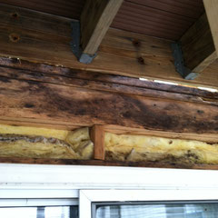 photo5-mold on wood above sliding glass door under deck