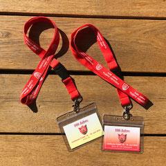 Schlüsselbänder und Eintrittskarten zum Zeltfest
