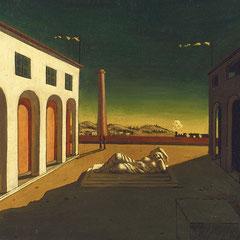 De-Chirico, Melancholia-1916