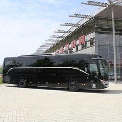 First Class 5 Sterne 36 Vollledersitze Neesbus VIP Bus