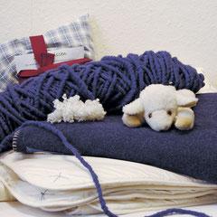 Decken und Kuscheltier