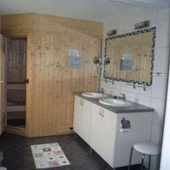 Bauernhof-Boie  Das Bad mit der Sauna