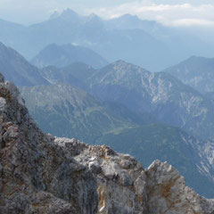 Wir sind uns einig: Der kurzentschlossene Weg zur Zugspitze hat sich gelohnt.
