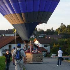 In Neukirchen setzen wir zur perfekten Landung an.