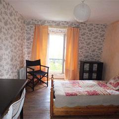 Chambres d'hôtes Bayeux - Jardins et Hôtel particulier - Deuxième chambre suite Indochine