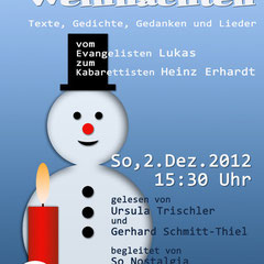 1. Advent-Lesung in der Mohr-Villa - 2. Dez 2012