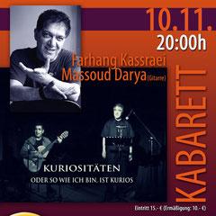 Mohr-Villa trifft Iran - Kabarett  - 10. Nov 2012