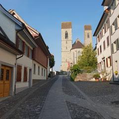 Rapperswil-Jona Sicht Richtung Schloss