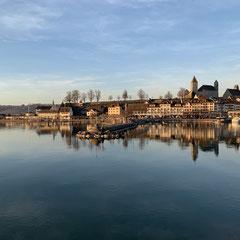 Rapperswil-Jona Sicht auf die Altstadt