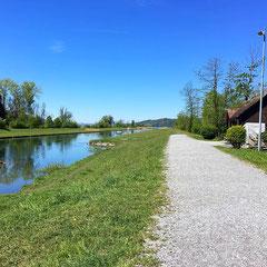 Schmerkner-Allmeind am Linthkanal