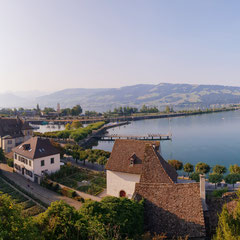 Rapperswil-Jona Sicht vom Schloss