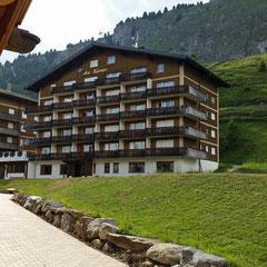 unsere Unterkunft im Hotel Art Furrer, Riederalp