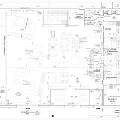 Espaces professionnels par MP intérieurs, Architecte d'intérieur UFDI sur Bordeaux et en Gironde (33)
