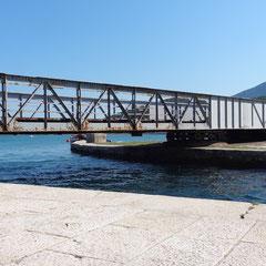Drehbrücke zw. Cres und Losinj
