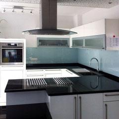Spritzschutz aus Glas - Küchenrückwand