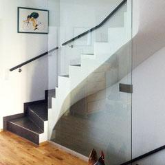 Treppenhausverglasung