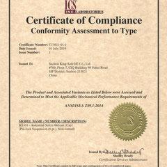 Industrial Safety Helmet ANSI/ISEA Z89.1-2014 Model KS#101