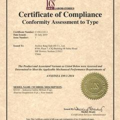 Industrial Safety Helmet ANSI/ISEA Z89.1-2014
