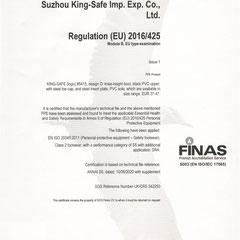 PVC Safety Boots CE ISO EN20345:2011 S5 SRA Model #5415