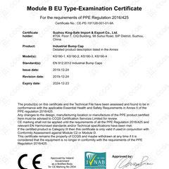 Industrial Bump Cap CE EN812:2012 Series KS190