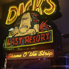 Dick`s Last Resort in Las Vegas