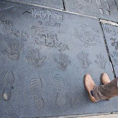 Harry Potter am Walk of Fame