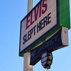 Elvis slept here in Las Vegas