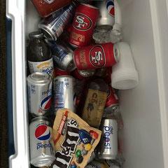 Kühlbox immer Randvoll