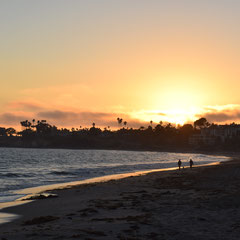 Sonnenuntergang in Santa Barbara