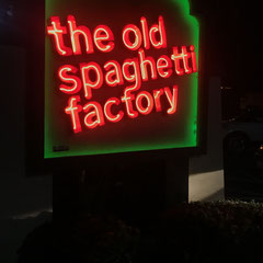 The Old Spaghetti Factory in Sacramento