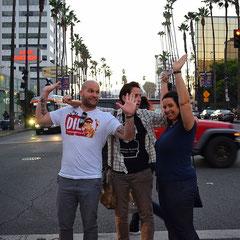 auf den Straßen von Los Angeles