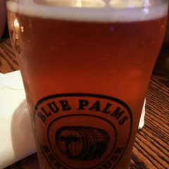 leckeres Lager Bier im Blue Palms Brew House