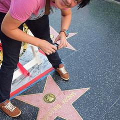 Walk of Fame mit Sandra Bullock