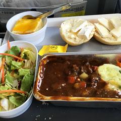 Flugzeug-Essen geht so