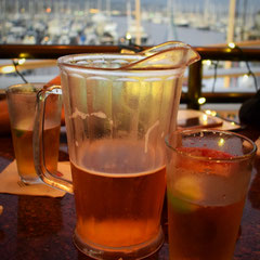 Beer Pitcher in Santa Barabara