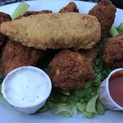 Chicken Wings in Jacks Bar