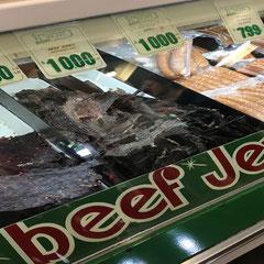 Beef Jerky am Farmers Market