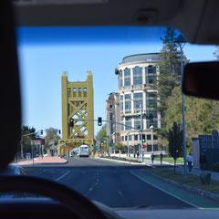 Ankunft in Sacramento