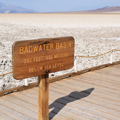 Badwater Basin im Death Valley