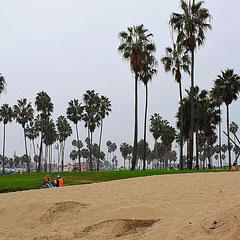 Venice Beach am Morgen