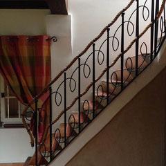 montée escalier après