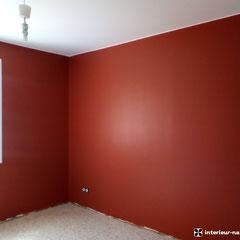 chambre après, peinture ondipur velours