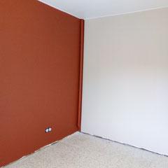 chambre après , peinture ondipur velours