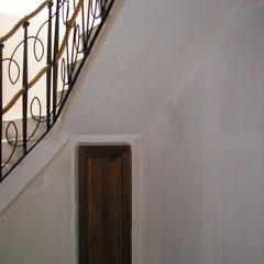 montée escalier avant