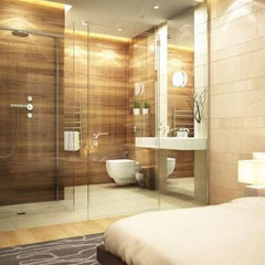 Sydney bathroom renovations Frameless shower screens give a seamless, uncluttered look to a bathroom
